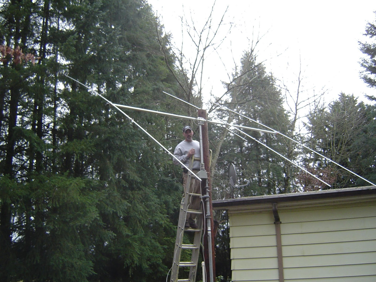 Homemade 11 Meter antenna