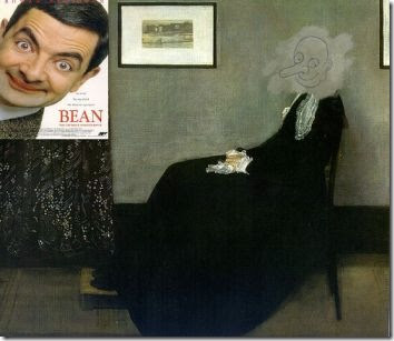 Jesus' painting restoration gone terribly wrong... Mr. Bean's style of art