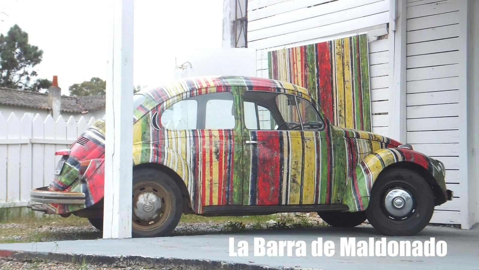 Street Art en La Barra de Maldonado, Uruguay