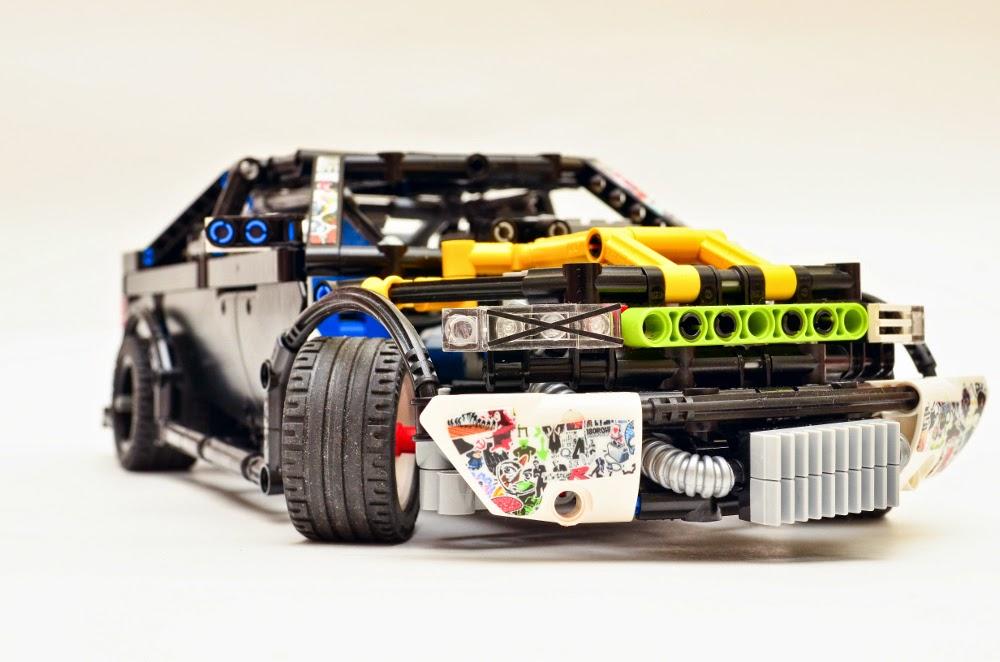 Moc Lego Technic Drift Custom Lego Technic Mindstorms Model