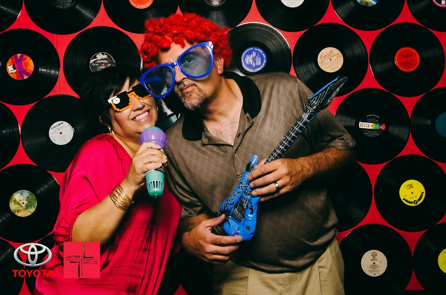 Eighties Rocknroll Party And Photobooth Lauren Lindley Photography