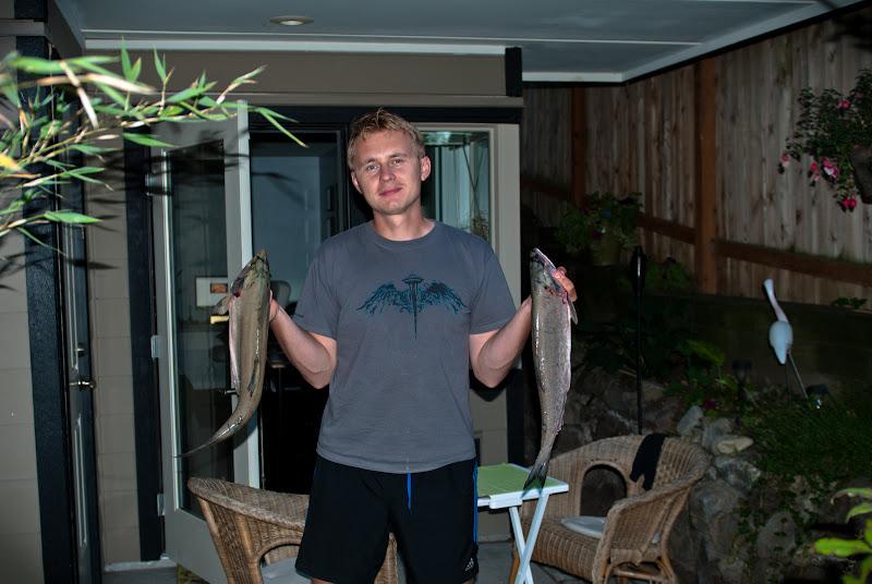 z cyklu mój pierwszy raz: polowanie na łososie..