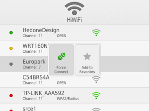 HiWiFi v1.0 BlackBerry Apps