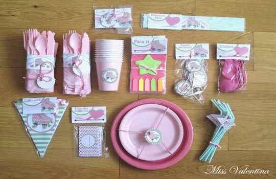 Uso de servilletas para fiestas de niños