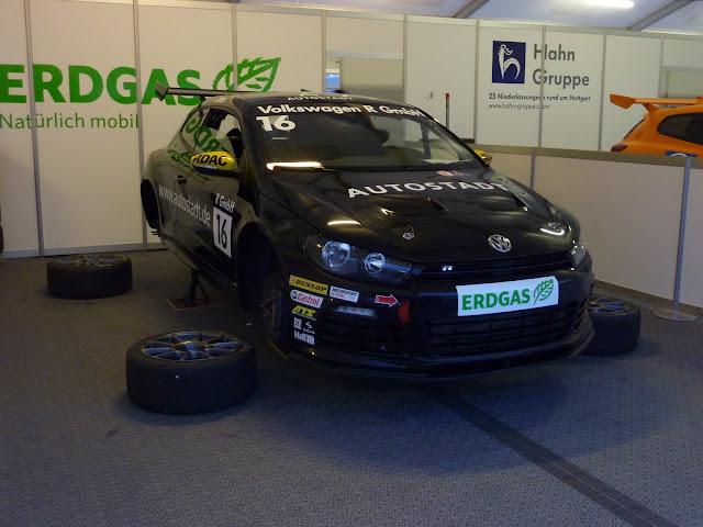 Demonstracja potencjału bioCNG - VW Scirocco R CUP