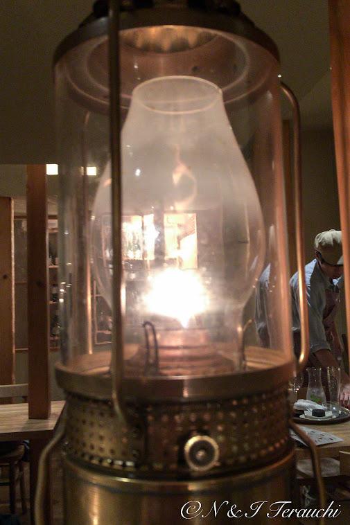 ランプのともしび