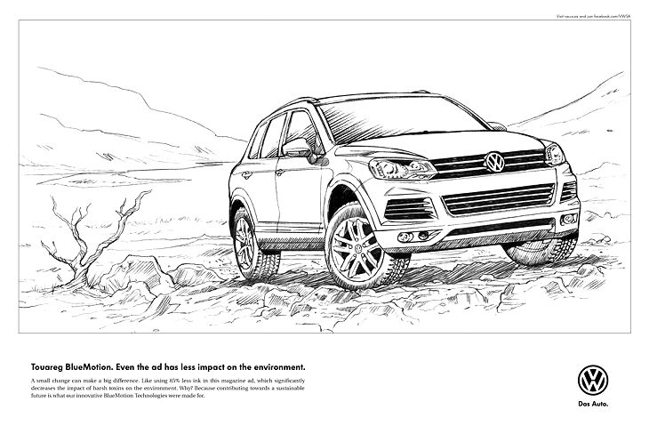 BlueMotion Touareg