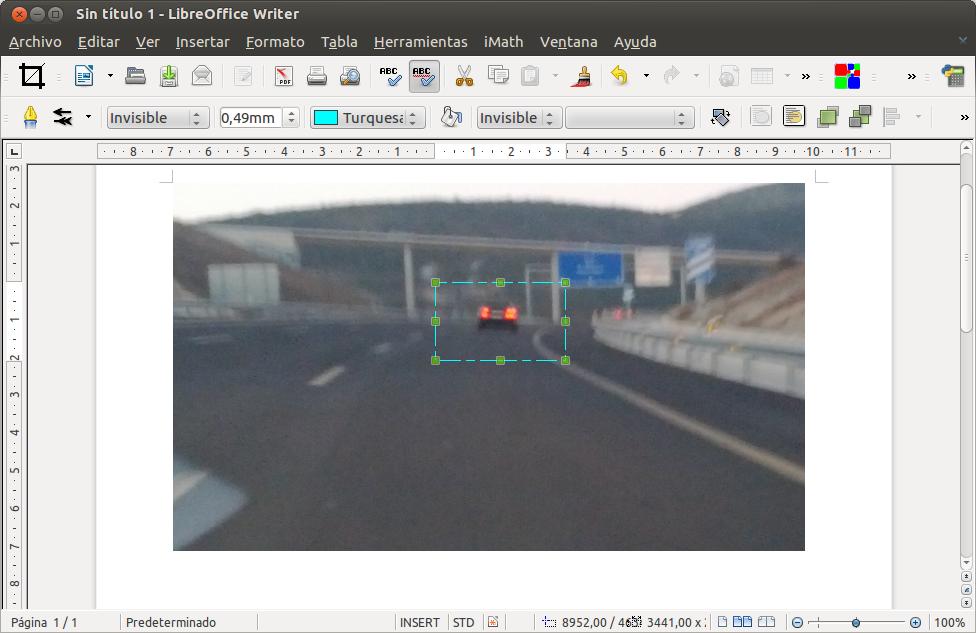 Recortar imágenes de forma visual en LibreOffice con CropOO