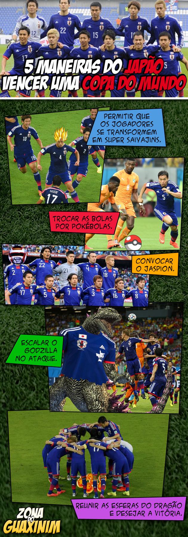 5 maneiras do Japão vencer uma Copa do Mundo