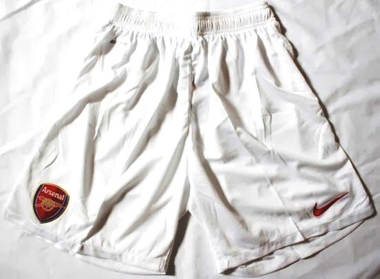 Jual Celana Bola Arsenal Warna Putih