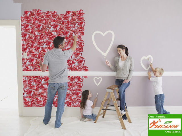 YISENNI decorative wall coating, new project of DIY wall decoration