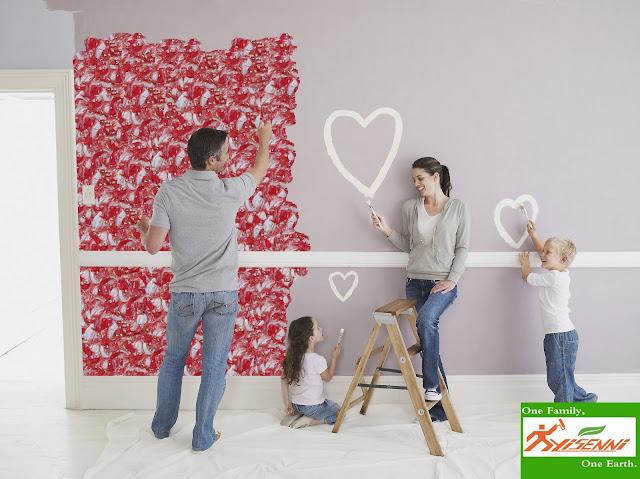 YISENNI decorative wall coating, new project of DIY wall decoration