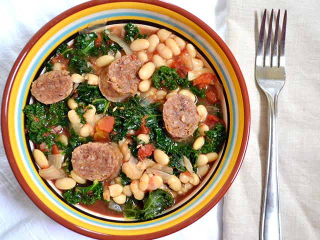Sausage & Kale Cassoulet