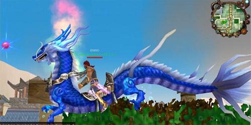 Kỵ thú Lam Long xuất hiện trong Thục Sơn Kỳ Hiệp 3