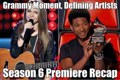 Grammy Moment, Defining Artists! – THE VOICE Season 6 Premiere Recap