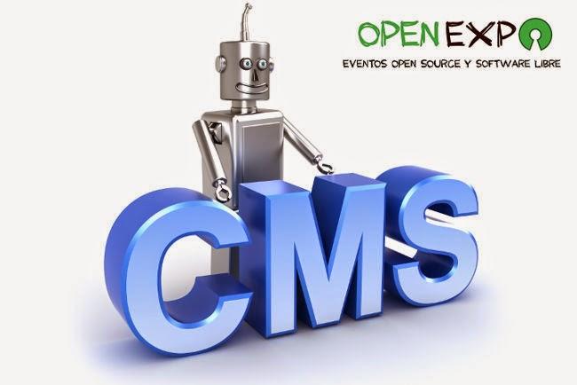 Nuevo evento OpenExpo sobre CMS Open Source