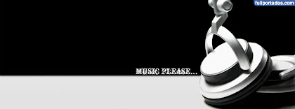 Portada para facebook de Music please