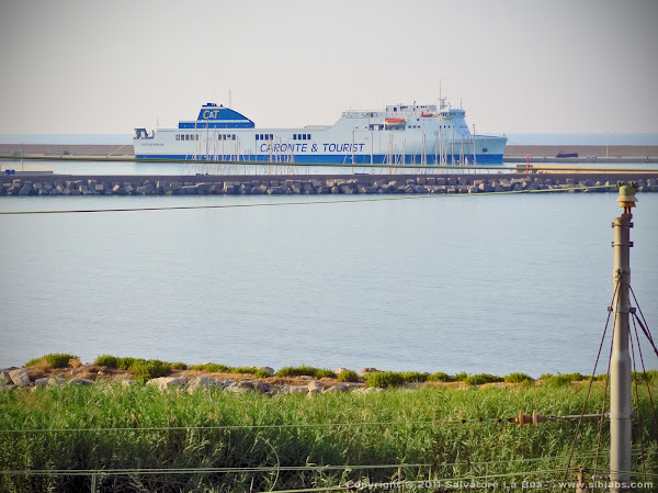 HDR Ferry ship