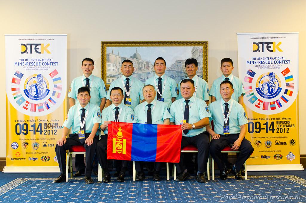 Команда Монголии Soyombo
