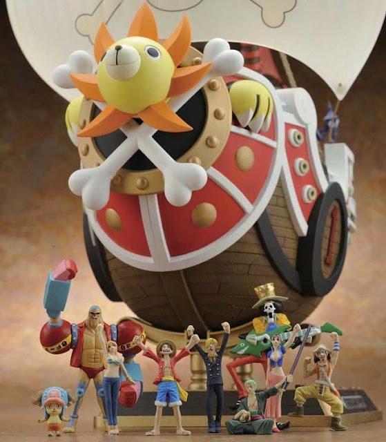 Các nhân vật tí hon kèm theo Mô hình One Piece Thousand Sunny