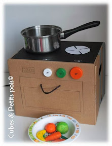 cuisinière carton enfant