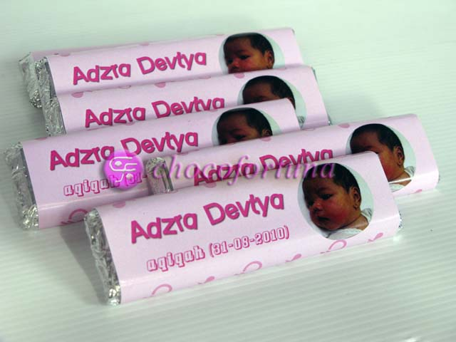 Chocobar coklat bar cokelat ultah ulangtahun birthday wedding aqiqah baby born shower one month