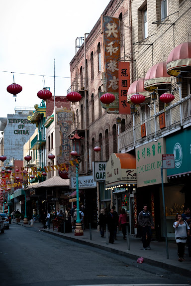 Great American Road Trip, cz. 2 -- San Francisco -- China Town..