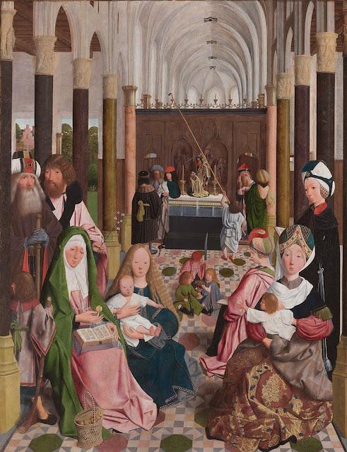 Geertgen tot Sint Jans - The Holy Kinship