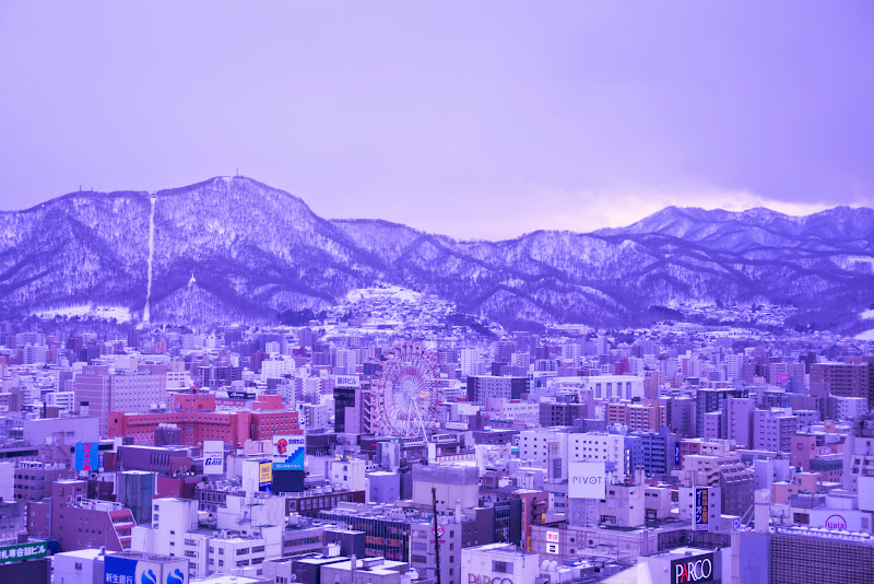 札幌 テレビ塔 展望台 写真1