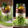 Salata u staklenci/Salad in a jar