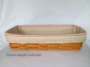 Longaberger Bread Basket