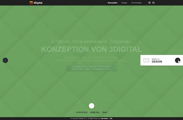 *不是Flash卻有如Flash效果的動態網站:3Digital Web Site 2