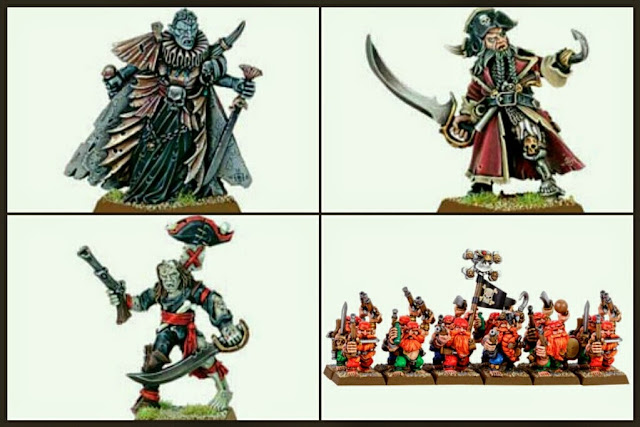 miniaturas de piratas Games Workshop