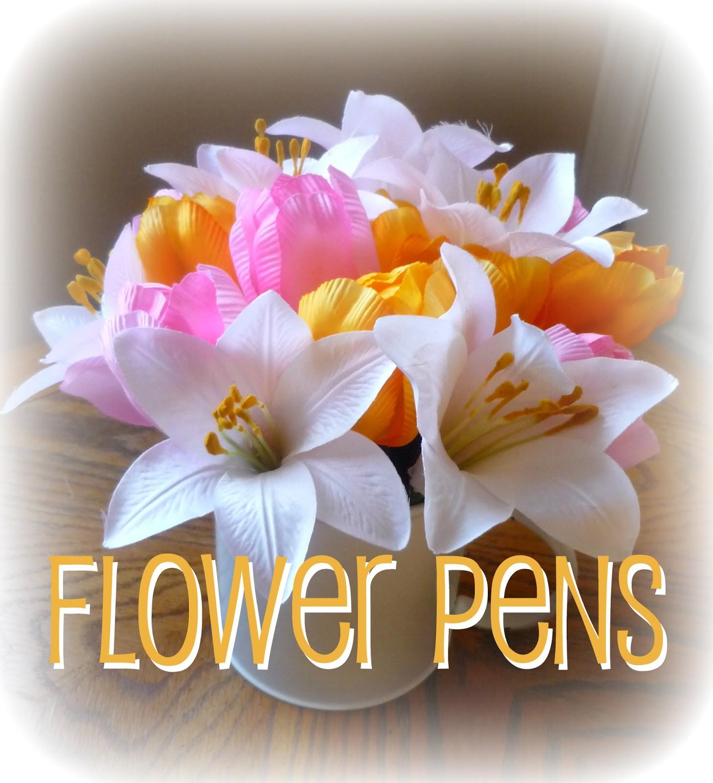 snips spice flower pens