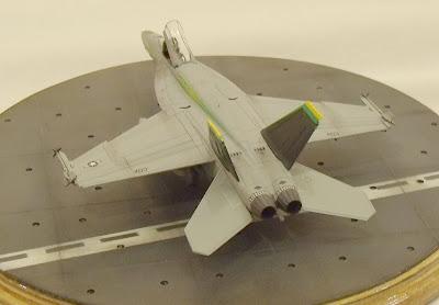 FA-18 Super Hornet model kit