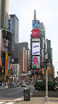 A clearer view of the north end of Times Square