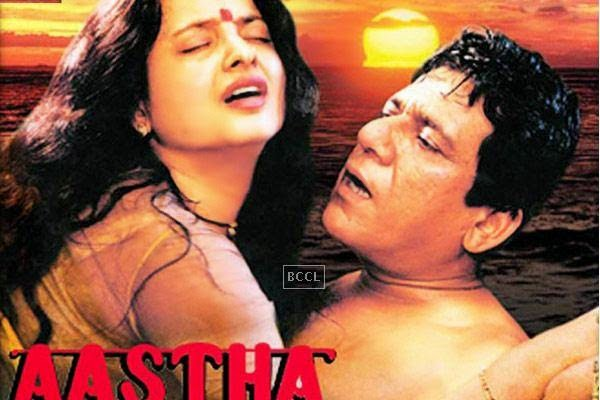 Aastha was a movie which was well ahead of its time. The movie starred Rekha who played the role of a married woman-turned-prostitute. The movie had a lot of explicit love scenes.