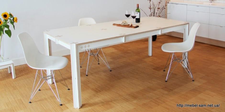 Фанерный кухонный стол