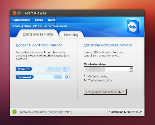 TeamViewer su Ubuntu