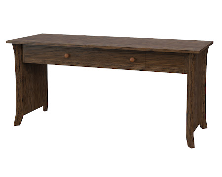 Kyoto Writing Desk in Hayes Quarter Sawn Oak