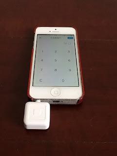 iPhoneとSquare