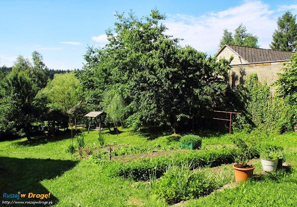 Trzcianka - ogródek w agroturystyce