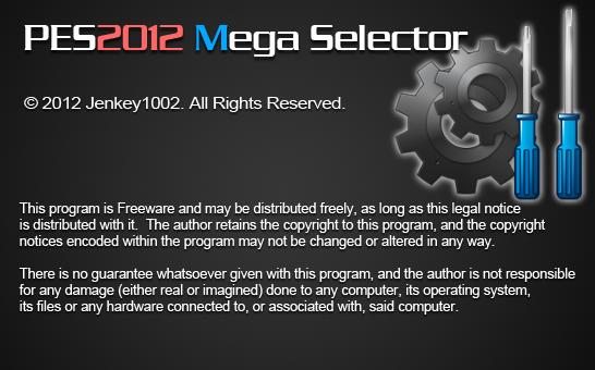 Mega Selector Tool released 5.5 - PES 2012