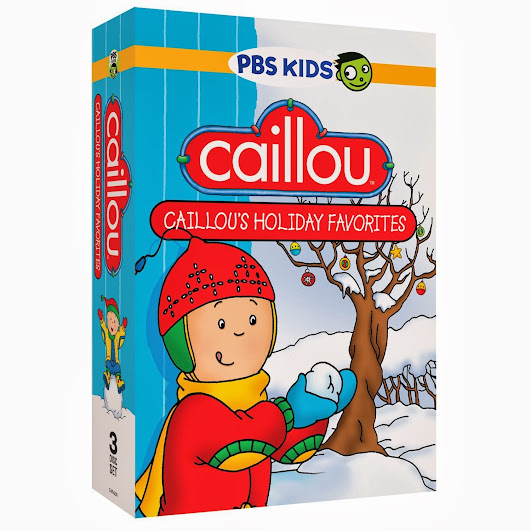 PBS KIDS Holiday DVD - Caillou: Caillou's Holiday Favorites