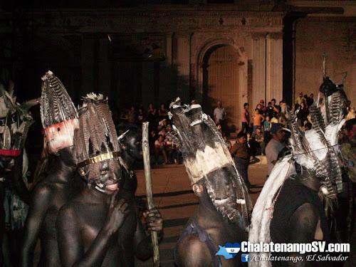 La danza de los indios del Barrio El Calvario