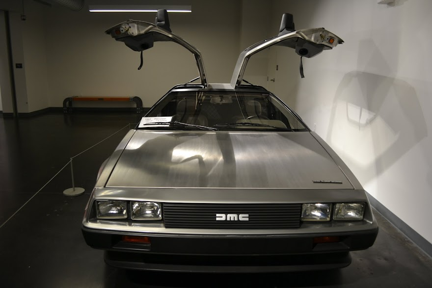 DeLorean DMC 12, 1983. Автомобильный музей ЛиМей, Такома, Вашингтон (LeMay Museum, Tacoma, WA)