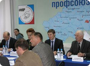 Заседание трехсторонней комиссии по регулированию социально-трудовых отношений в Тверской области