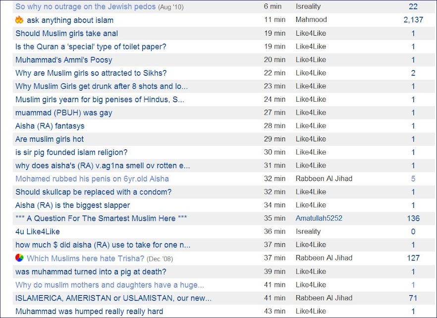 Topix · Thread **** Topix Moderators **** | Islam Forum - Topix |  BoardReader · To Topix Moderators - Topix · Topix deleting my posts - Topix  ...