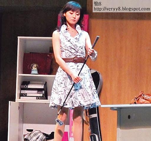 11年在國內演舞台劇《撒嬌女王》,巡迴了五十場。