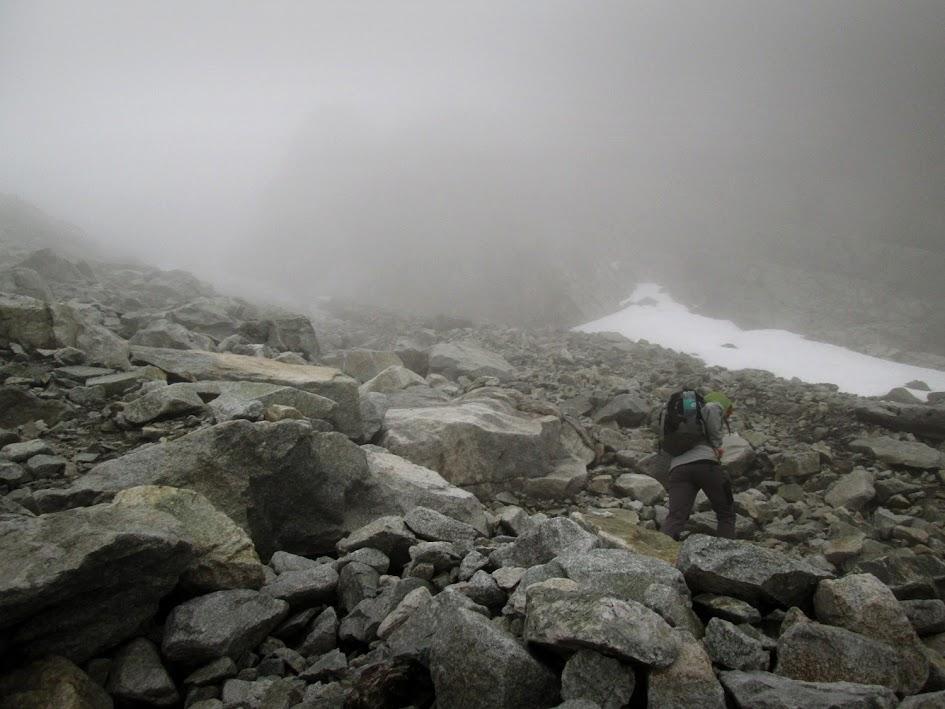 Wschodnia Batyżowiecka Przełęcz - podejście